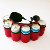 China Promotional gift beer can bottle coolers neoprene printing cup sleeve stubby holder on sale