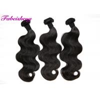 China Natural Color 7A Virgin Indian Hair Extensions Double Drawn With Cuticle wholesale