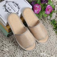 Buy cheap Rattan Guest Hotel Room Slippers Closed Toe Custom Hotel Slippers For Spa Use from wholesalers