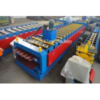 China 7.5KW 0.3 - 0.8mm Double Layer Roll Forming Machine 380V 50Hz 3 Phases wholesale