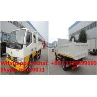 China HOT SALE! Dongfeng 4*2 double cabs light duty 3tons dump tipper truck, Factory sale high quality and lower price tipper wholesale