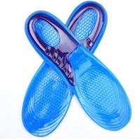 China Sports Massaging Silicon Gel Insoles Arch Support Plantar Fasciitis Running Shoe wholesale
