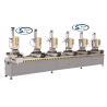 China Aluminum Window Profile Six Head Drilling Machine / Aluminum Window Fabrication Equipment wholesale