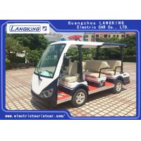 Buy cheap CE Approval 48 Volt Electric Car , Electric Patrol Vehicles 8 Seats Comfortable from wholesalers