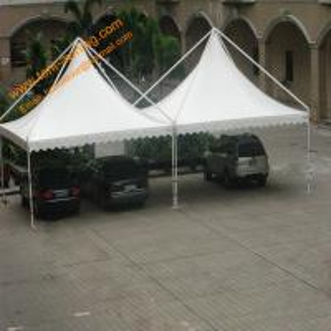 China Outdoor UV Resistance Fireproof  Powder Coated Steel Gazebo Parking Tent wholesale