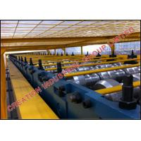 China Three Humps Steel Panel Floor Deck Roll Forming Machine CE / SONCAP wholesale