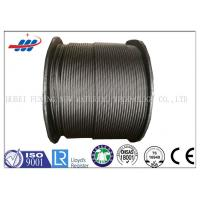 China Professional Steel Wire Rope For Cranes / Hauling , 6-48mm Wire Gauge on sale
