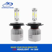 China Auto car light S2 Led Headlight 36W, 4000lm H4 Headlight Bulb for Motorcycles wholesale