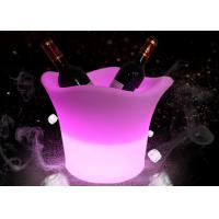 China Customized Led Ice Buckets For Beer Champagne And Vodka With Led Lighting Up wholesale