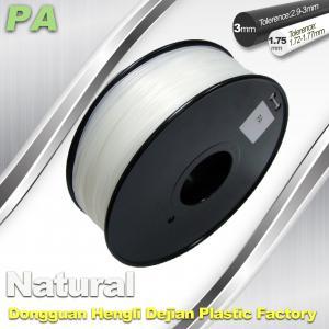 China Custom  Nylon 3D Printer Filament  , Transparent Filament Material wholesale