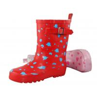 China cheap children rubber rain boots on sale