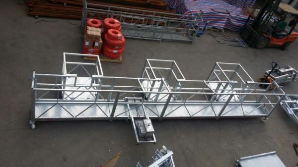 Quality Standard suspended cradle / gondola construction / steel suspended scaffolding / hanging platform for sale