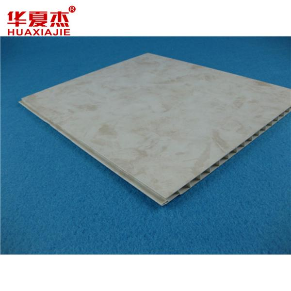 Quality Decorative Hollow Core PVC Ceiling Panels Printing Fireproof Pvc Resin Panels for sale