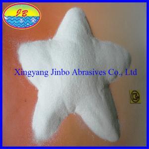 China Sandblasting white fused alumina on sale
