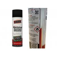 China Fast Drying Electrical Contact Cleaner For Dissolves Industrial Grease / Grime on sale