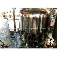 China 3-In-1 Unit Mineral Water Bottle Filling Capping And Labeling Machine wholesale
