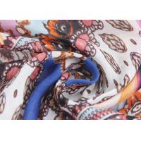 China 50 D Silk Crepe Fabric Combed Yarn , CDC Silk Georgette Fabric 16 Mm wholesale