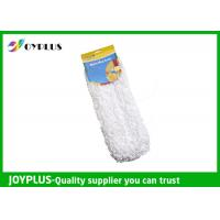 China Light Weight Microfiber Dust Mop Pads , Washable Mop Pads With BSCI Certificate on sale