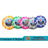 China High Precision Casino Poker Chip Set / Poker Table SetFor Gambling Games wholesale