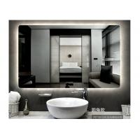Buy cheap Smart led without frame bathroom mirror wall hanging mirror bathroom vanity from wholesalers