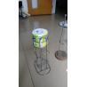 home free standing spiral design kitchen/toilet metal paper towel holder/rack