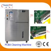 China Circuit Board Cleaning Equipment 360°Rotate Jet Clean and Compressed Air Blow Dry Mode wholesale