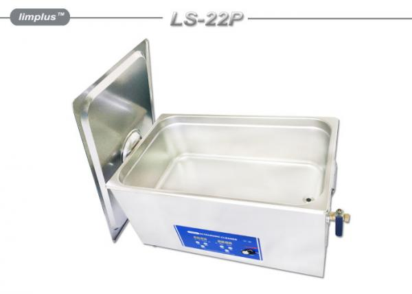 Quality 22L High Power Table Top Ultrasonic Cleaner Electrical Components Clean for sale