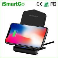 China 5V 9V Fast Wireless Charger Foldable QI Wireless Charging Mat Pad for Galaxy S10/ S10+/S9/S9+/S8/S8+/Note 8/iPhone 8/X on sale
