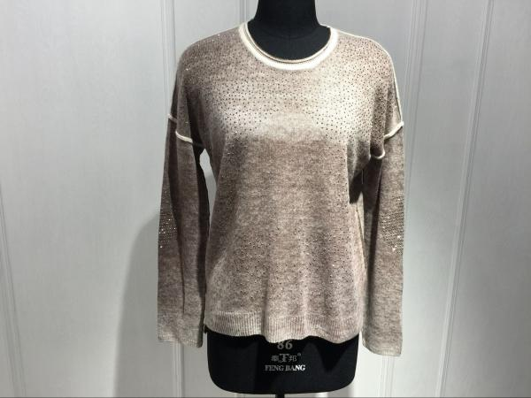 Quality Round Neck Womens Cashmere Sweaters S / M / L / XL Size Available for sale