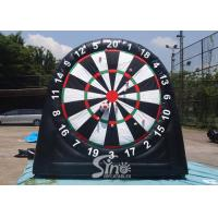 Buy cheap 3m high 3in1 giant inflatable golf dart board with support base for kids N from wholesalers
