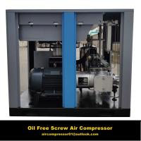 China Food industry use 30hp Oil Free screw air compressor wholesale