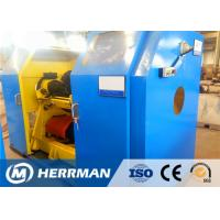 China Copper / Aluminum Wire Rewinding Machine , Cable Winding Equipment With Taping wholesale