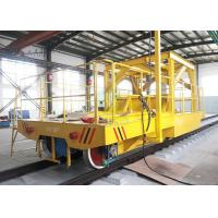 China Copper plant using transport flat coil handing cart on railway exported to Chile on sale