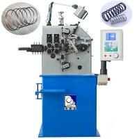China Blue Wire Spring Making Machine230pcs / Min Fast Speed With 100KG Decoiler wholesale