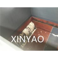 China Claw Knife Plastic Shredder Machine for Crushing Solid Plastic ISO9001:2008 / CE wholesale