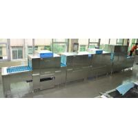 China 920KG Stainless Steel Commercial Dishwasher ECO-L850CP3H2 8500mm Length wholesale