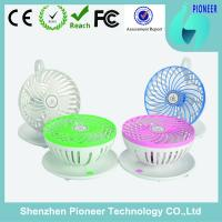 Portable usb mini fan with coffee cup design small size table fan at factory price
