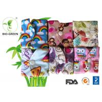 China Machine Washable Reusable Sanitary Pads With Anti Bacterial Charcoal Bamboo wholesale