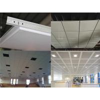 Decorative Suspended Ceiling Tiles With Aluminum Alloy , Office Ceiling Tiles