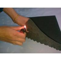 Flame Resistant Industrial Foam Sheets with Wave Surface 18 D - 65 D Density