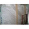 China Volakas Marble Stone Slab Tile Kitchen / Bathroom Decoration Use Heat Insulation wholesale