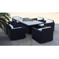 China Outdoor Patio / Balcony Sofa Set , Wicker Dining Room Furniture Sets wholesale