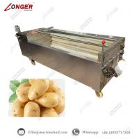 China Brush Washing And Peeling Machine|Potato Washing Machine|Potato Washing and Peeling Machine|Commercial Washing Machine wholesale