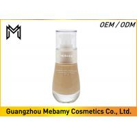 China Hydrating Liquid Mineral Foundation Makeup SPF 15 Moisturizing Formula 1 Color wholesale