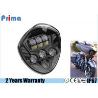 China 60W Cree Motorcycle LED Headlights High 3450LM Low 2800LM IP67 Waterproof wholesale