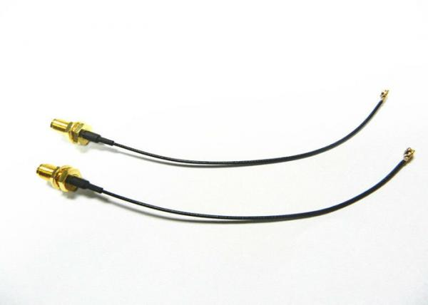 Quality Waterproof RF Cable Assemblies SMA Female RG178 Coaxial Cable For Vehicle RoHs for sale