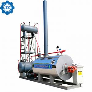 China Horizontal package Type Gas And Oil Fired Thermal Oil Boiler Heater For Asphalt Heating wholesale