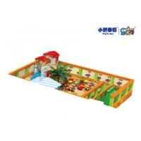 China Outdoor Square Large Childrens Sandpit , Indoor Playground Childrens Play Sand Pits on sale