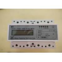 China Three Phase Four Wires Smart Din Rail Meter with RS485 or Wifi for Monitoring the Energy wholesale