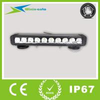 """China 17"""" 100W one row cree LED work light bar for off road cars 6750 Lumens WI9011-100 wholesale"""